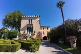 Villa in Bardolino am Gardasee im Oktober 2018