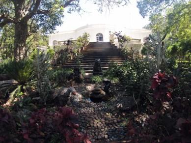 British occupiers garden