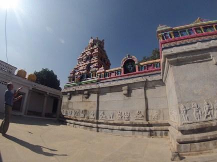 colourful Hindu temple