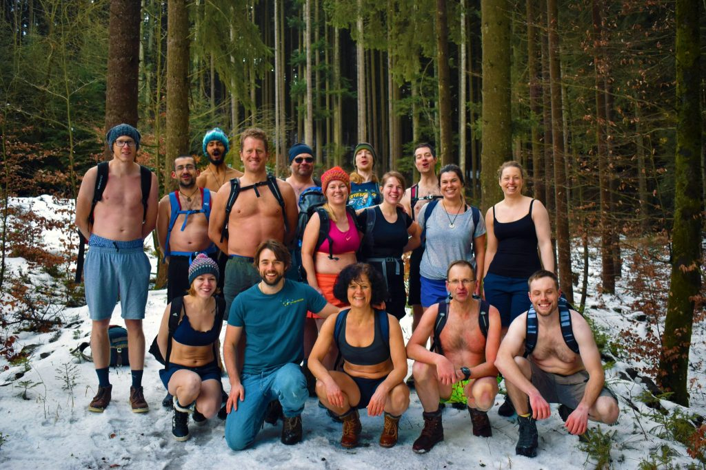 Wim Hof Method Winter Training - Schwarzwald Germany - Februari 2019