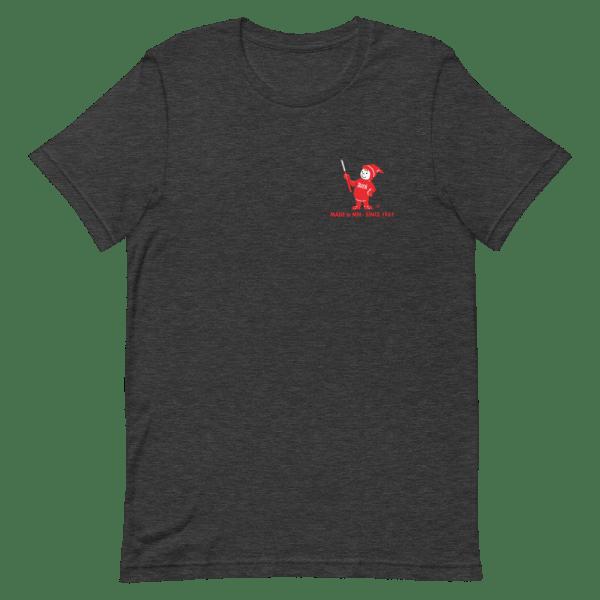 Dark Gray Sven-Saw t-shirt front view