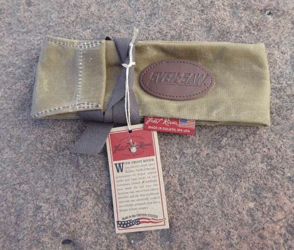 Large saw bag with Frost River tag