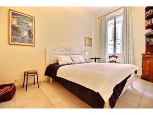 Lägenhet till salu i Cannes Banane svenska mäklare franska rivieran sovrum