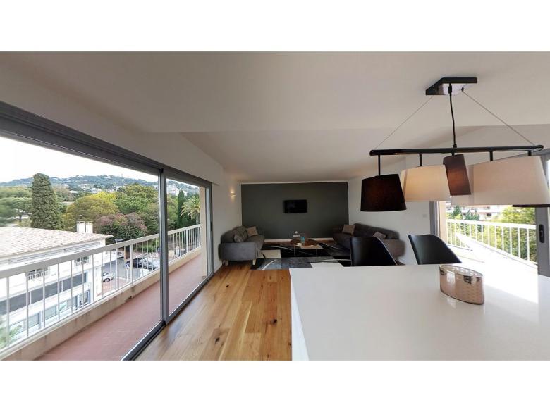 Cannes Basse Californie - nyrenoverad lägenhet till salu