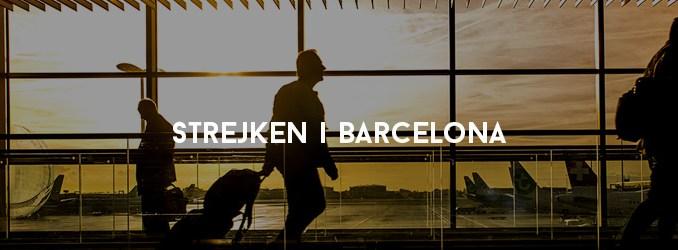 Strejken i Barcelona