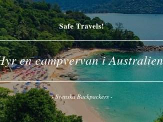 Hyr en campvervan i Australien!