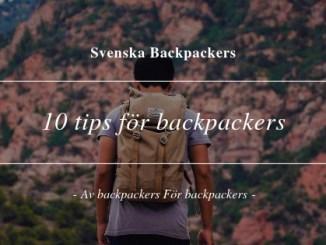 10 tips för backpackers