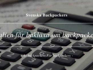Australien får bakläxa om skatt för backpackers