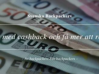 Boka med cashback och få mer att resa för