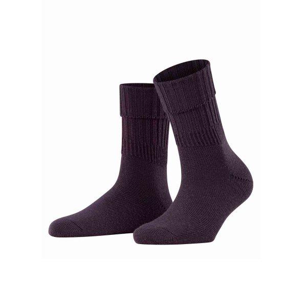 Falke Striggings Rib sock violetonyx