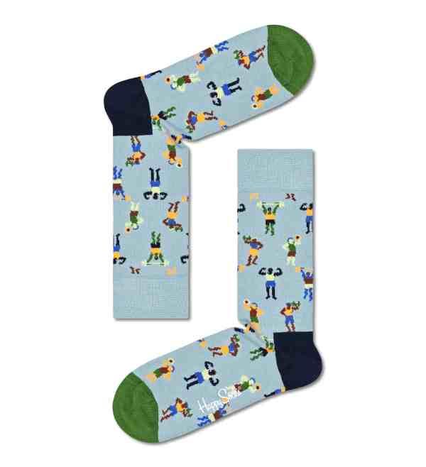 Happy Socks Workout blauw