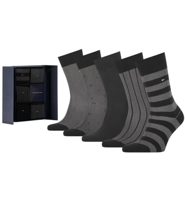 Giftbox Tommy Hilfiger 5-pack zwart birdeye