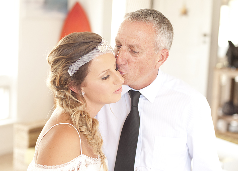 Dad's kiss