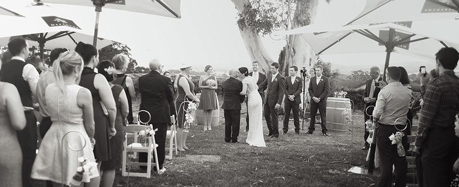 Nepenthe Winery wedding