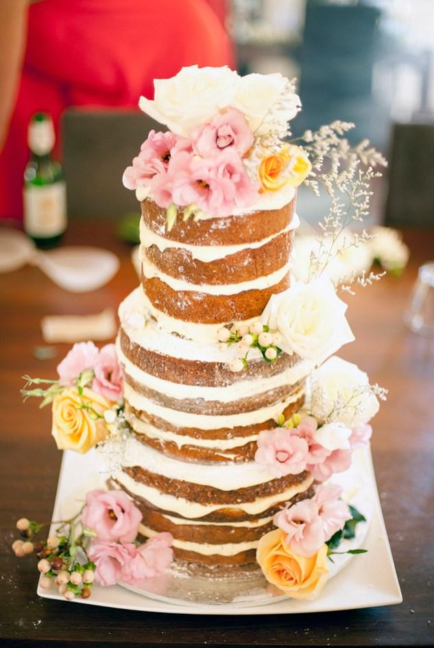 Wedding cake at Coriole
