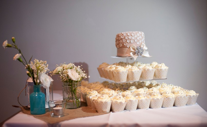 Wedding cake at The Stirling Hotel