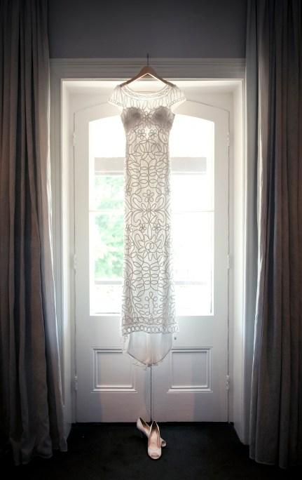 Wedding dress at Stirling Hotel
