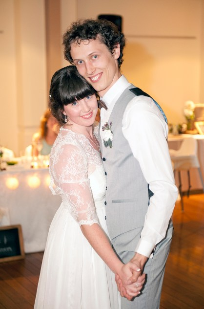 First Dance at Unley Town Hall