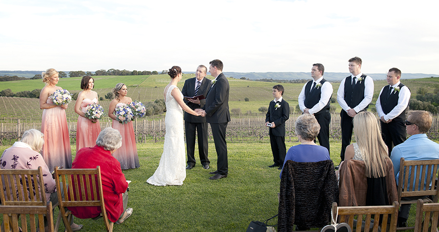 Coriole Vineyards Wedding Ceremony