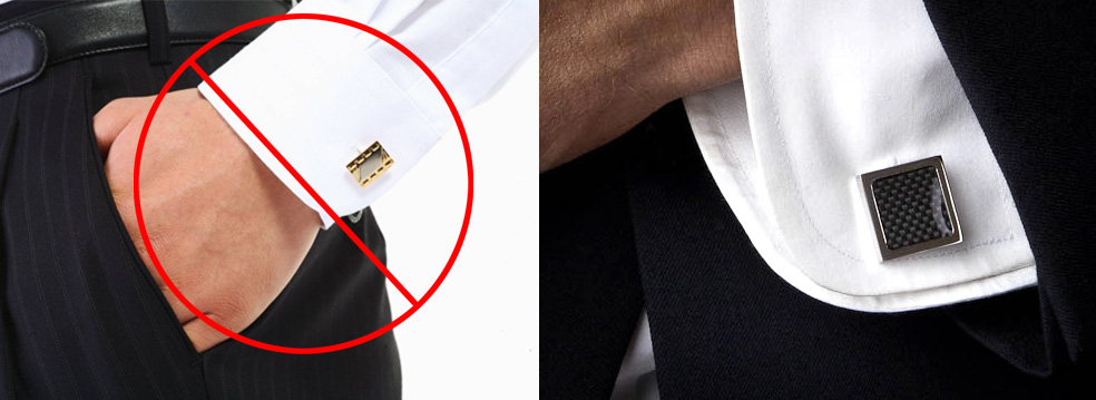 grooms have trouble with cufflinks