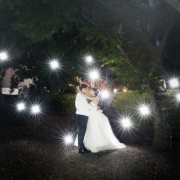 Sferas Wedding Reception Light Painting