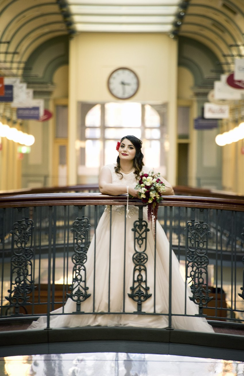 Adelaide Arcade Wedding