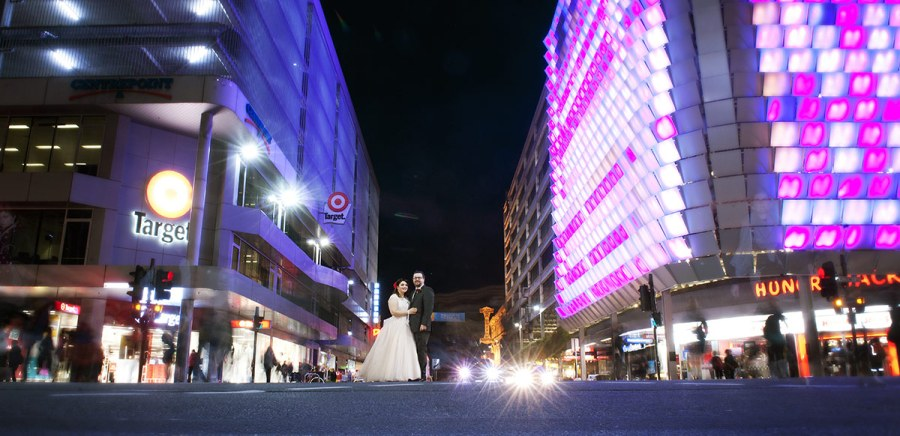 Rundle Mall Wedding by SvenStudios