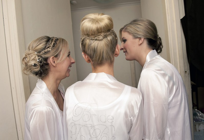 Bridal Party Preparation Photos