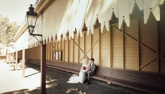 Belair train station wedding