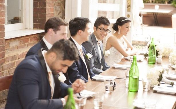 Benjamin on franklin wedding