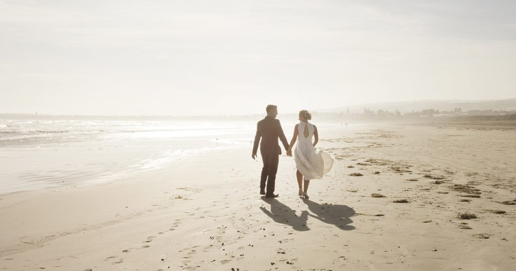 Middleton beach wedding