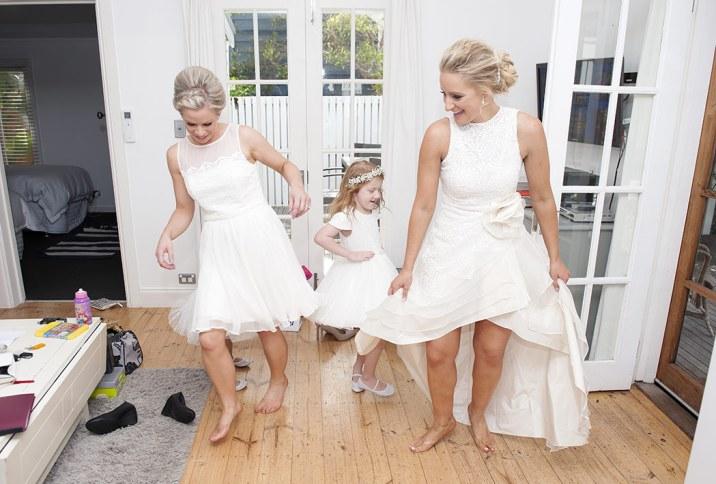 Bridal Party Preparation