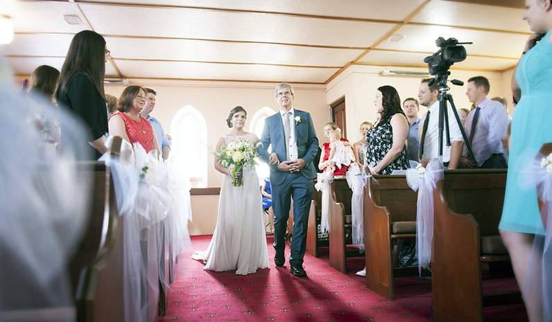 St Pauls Hahndorf wedding
