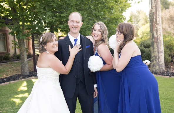 Groom and bridal party