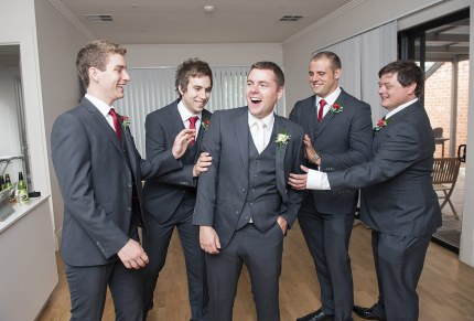 Groomsmen preparation