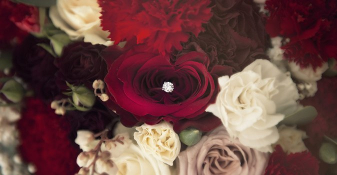 Engagement ring - One of my favourite shots to get during wedding preparation