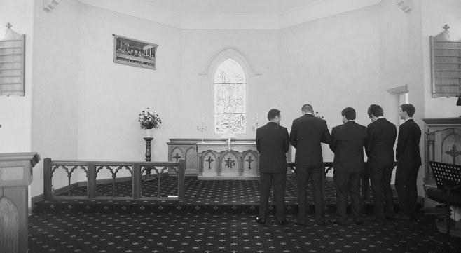 Trinity lutheran church wedding