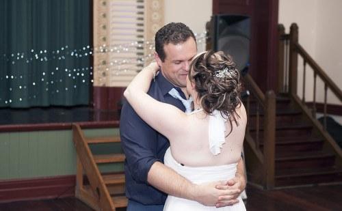 Rememberance Hall wedding reception