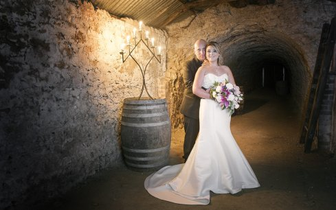Maxwell Winery wedding photo