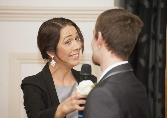Celebrant speaking