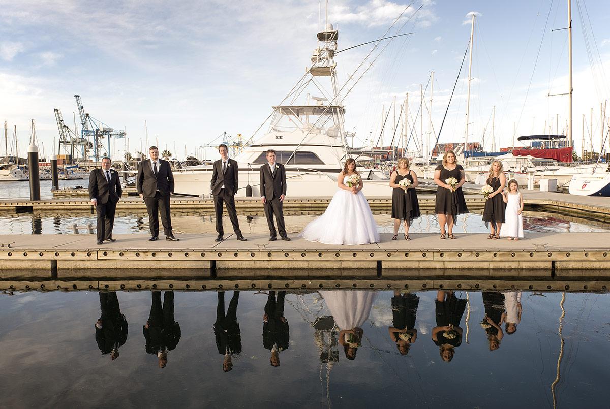 Royal South Australian Yacht Club wedding