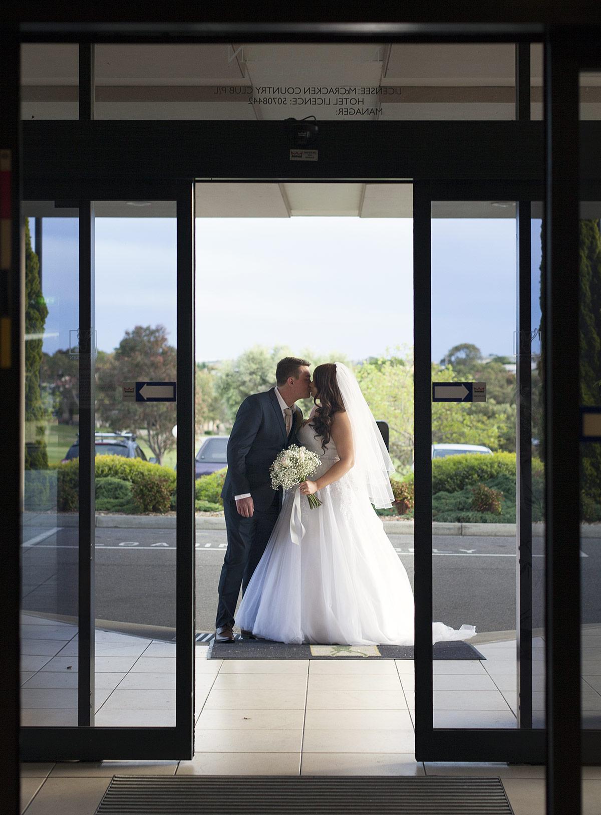 Doors of McCracken COuntry Club
