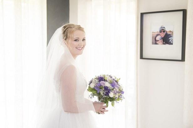 Bride looking pretty