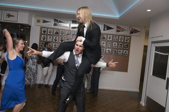 Guests having fun