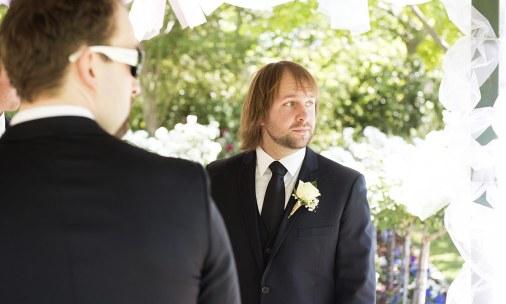 Groom looking for bride