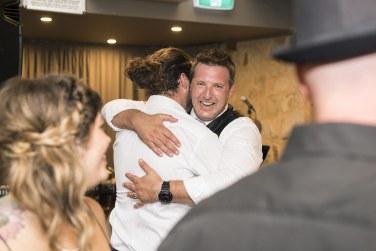 Hugs on the dancefloor