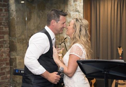 Kisses after speech