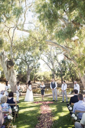 Oliver's White Hill wedding