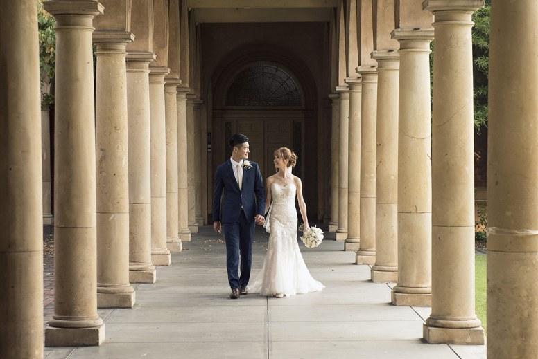 Adelaide University Wedding Photo