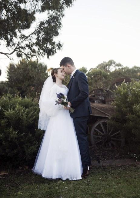 Bride and Groom together